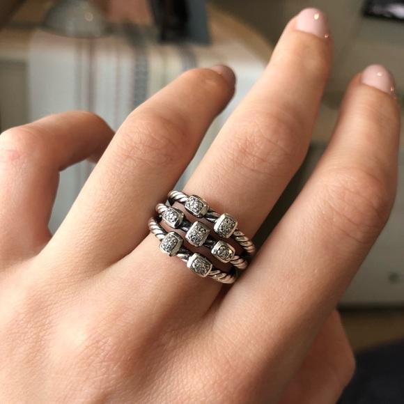 David Yurman Jewelry David Yurman Confetti Diamond Ring Poshmark